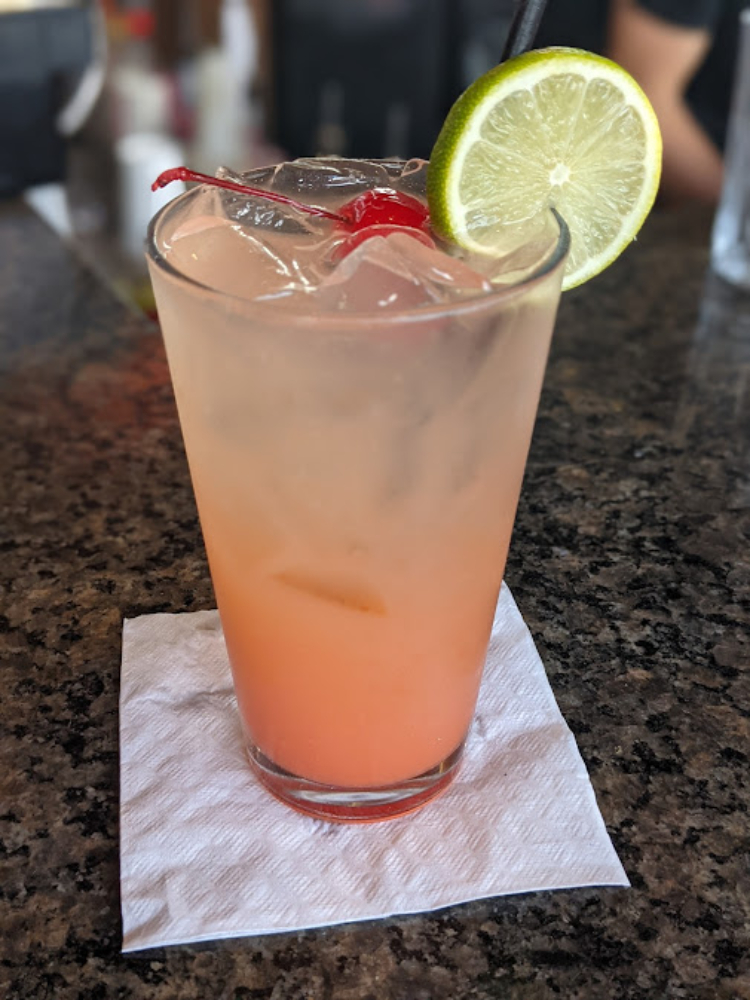 5 Palms Happy Hour Drink
