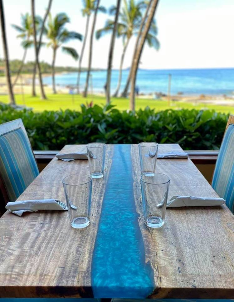 Oceanfront Dining at Five Palms Restaurant