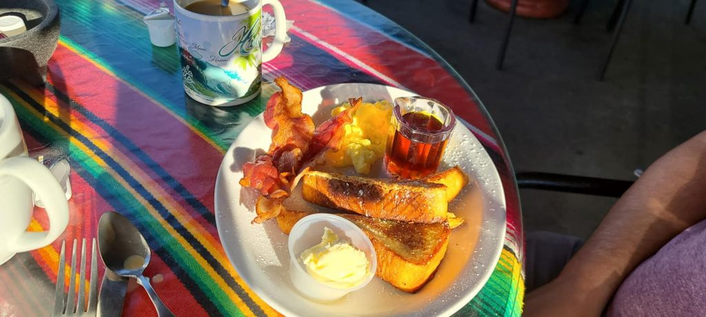 French Toast at Amigos Restaurant