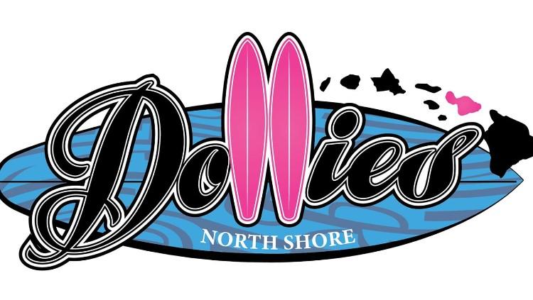 Dollies North Shore logo - Paia Maui Hawaii