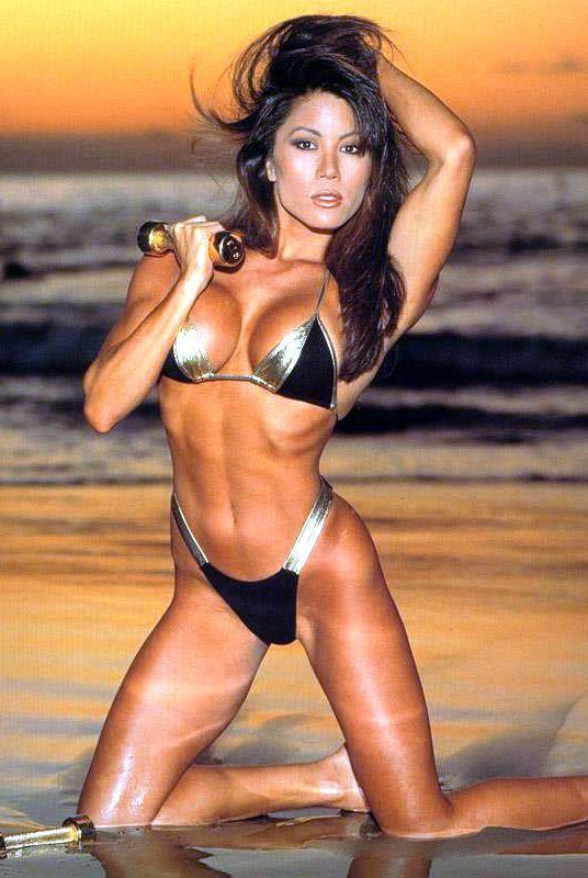 Kiana Tom Fitness Model