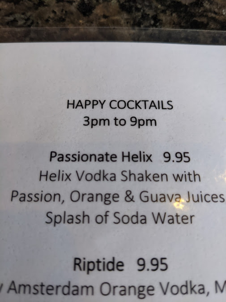 What are the happy hour times at 5 palms kihei maui