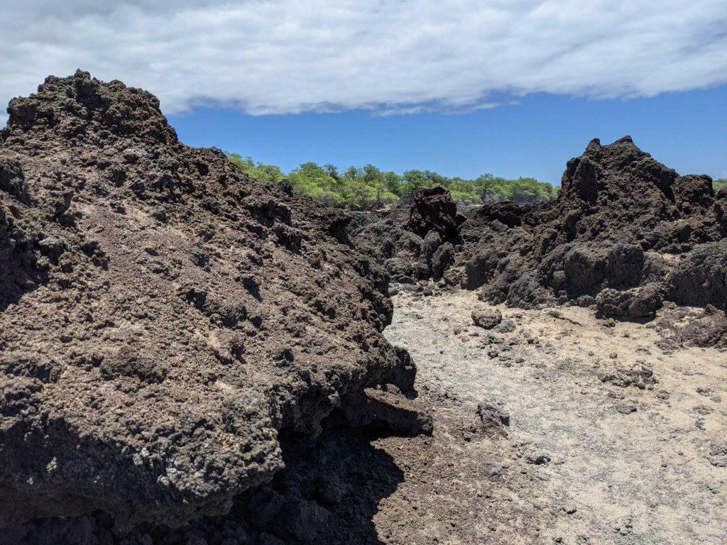 Where can I see lava on Maui