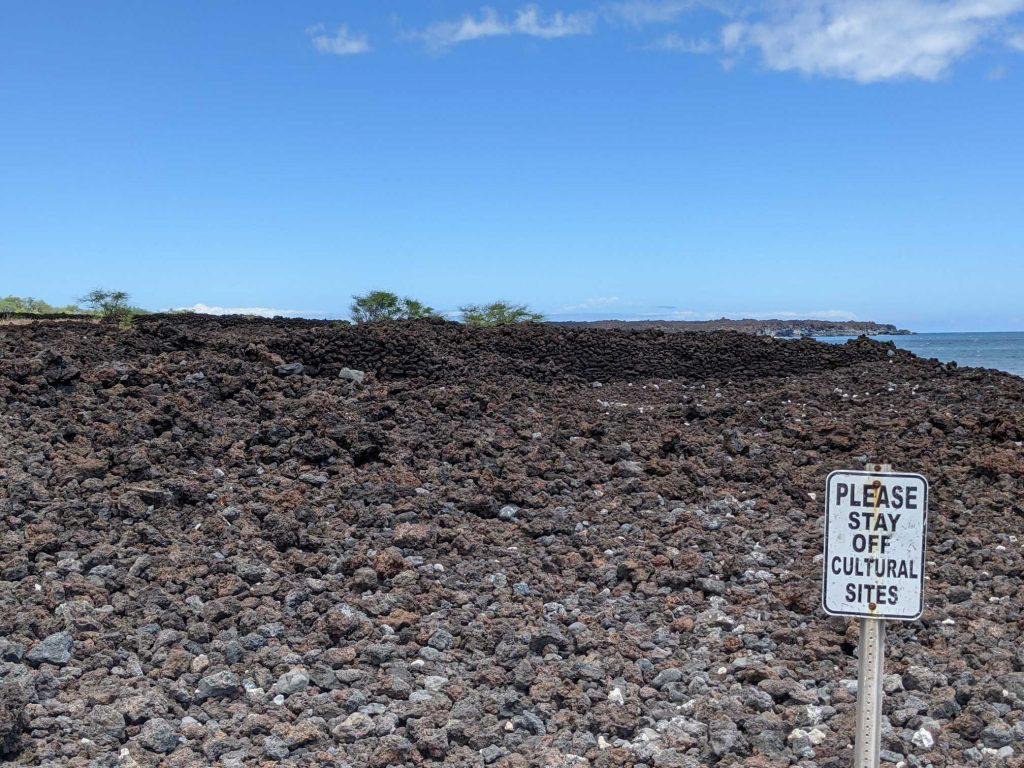 Hawaii Lava Fields Maui
