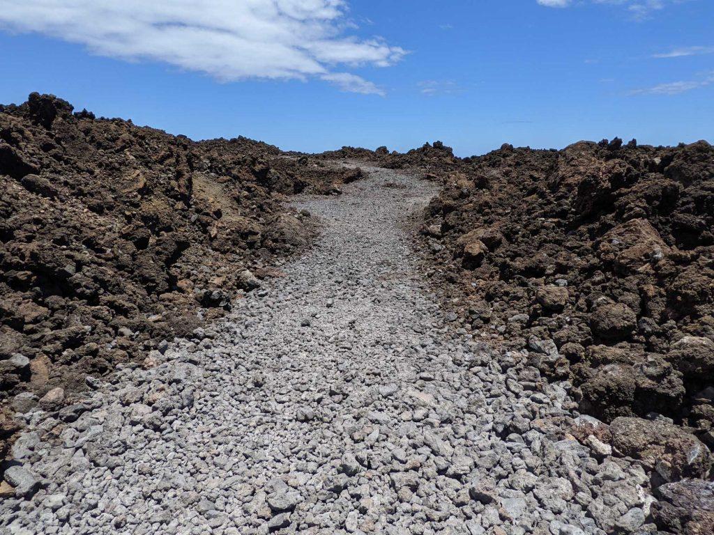 Hike through the lava Maui