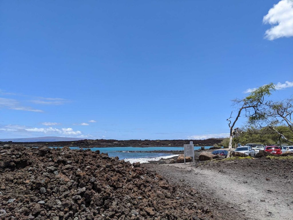 La Perouse parking lot Maui