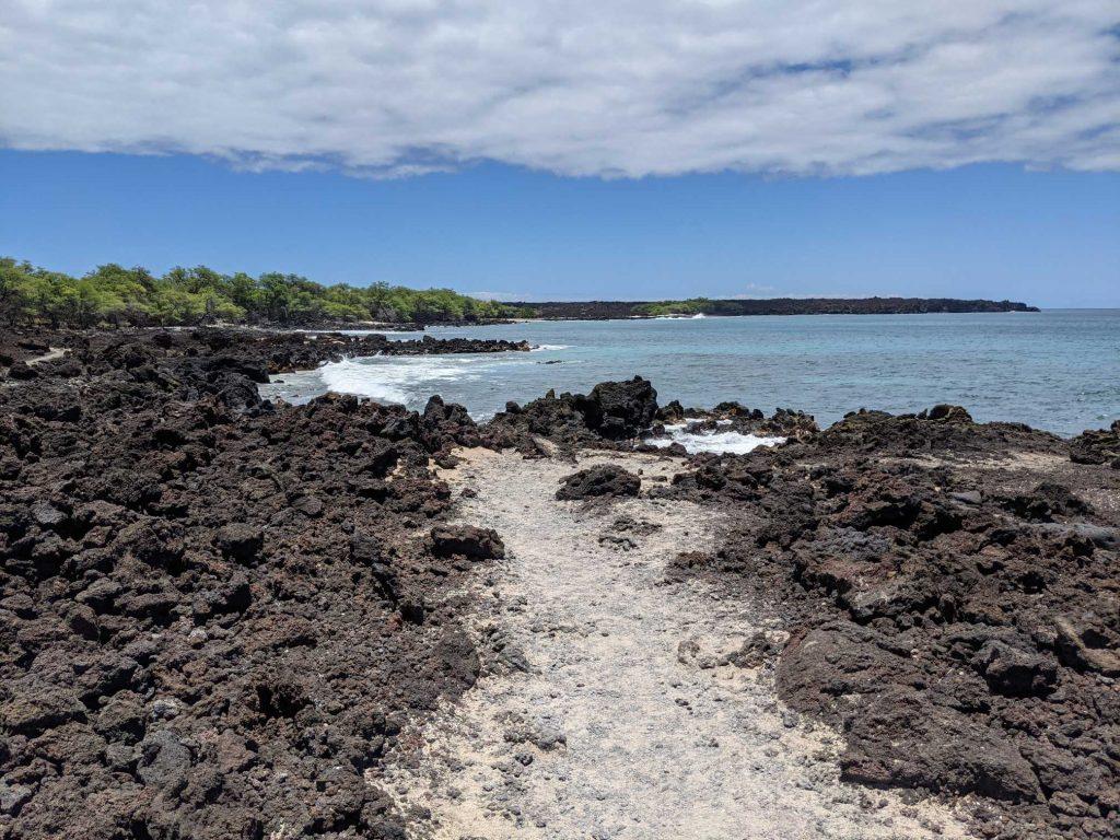 Maui lava hike