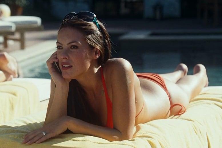Sasha Barrese bikini