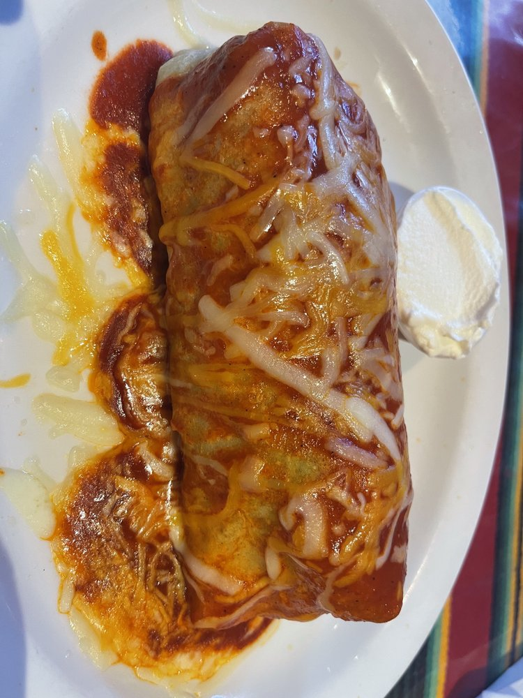 Wet Burrito at Amigos Happy Hour
