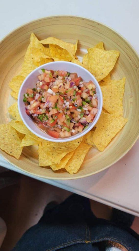 Maui Happy Hours - Pico De Gallo with Chips