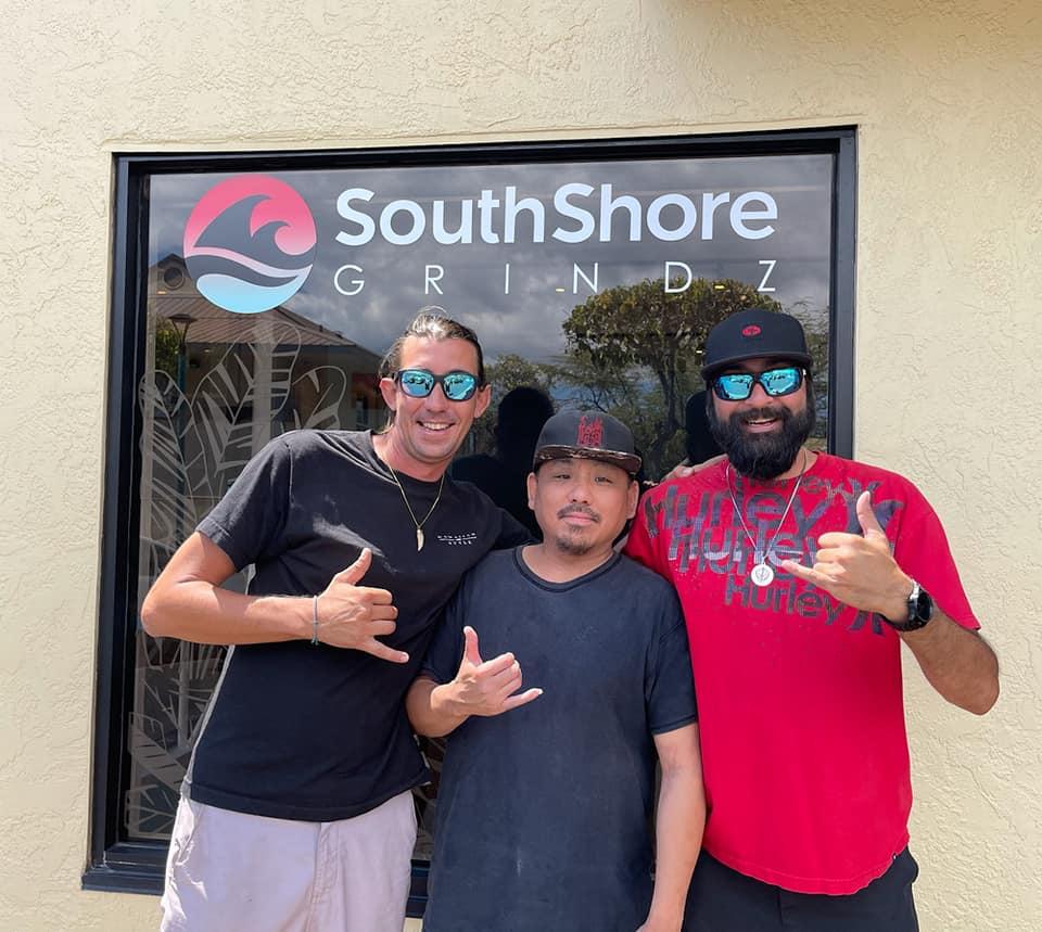 Southshore Grindz Maui restaurant owners