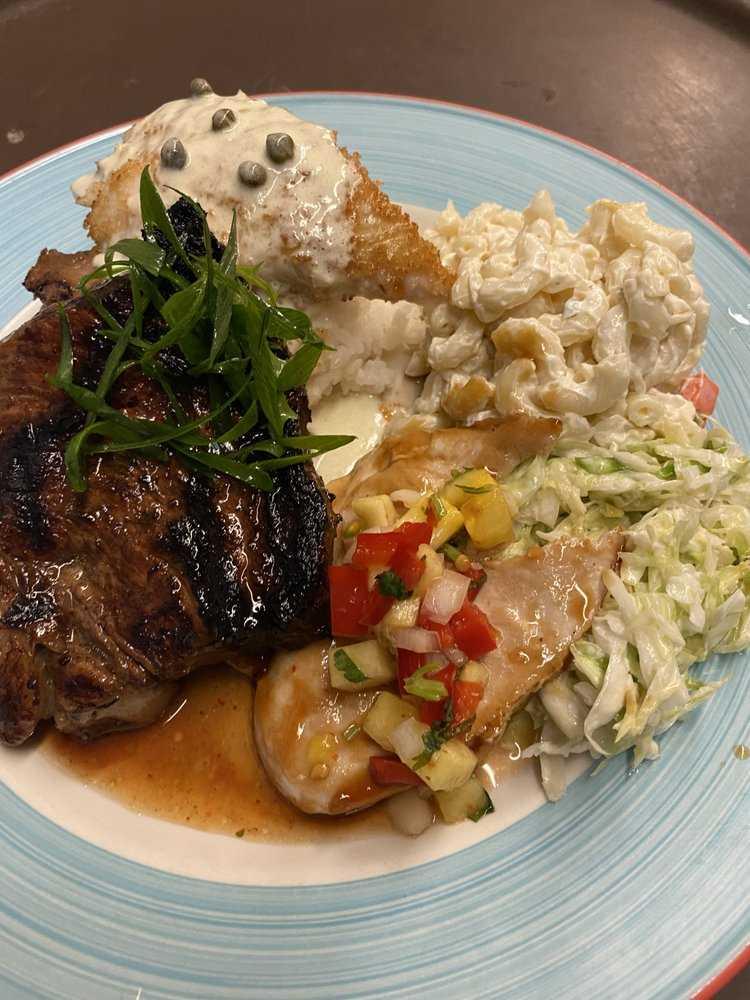 Surf and Turf Steak Dinner