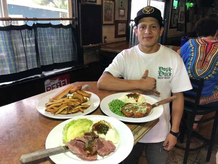 Chef at dog and duck maui