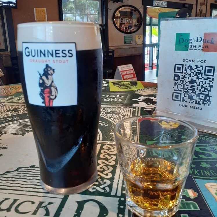 Dog and Duck Happy Hour Kihei HI Irish Pub